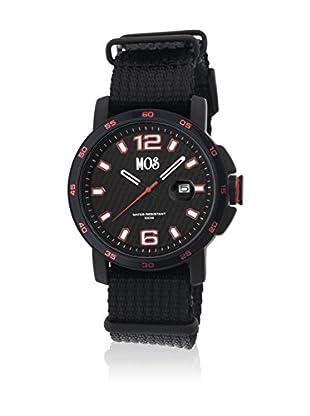 Mos Reloj con movimiento cuarzo japonés Moseb107 Negro 43  mm