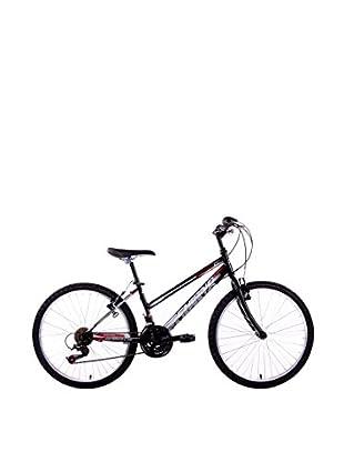 Schiano Cicli Bicicleta 24 Wild Cat, 18V. Negro