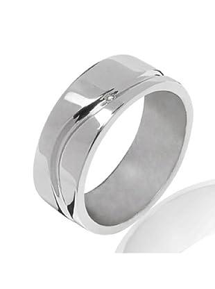 Secret Diamonds 60250124 - Anillo de mujer de plata de ley con 1 Diamante (Plata)