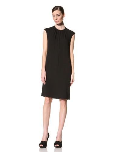 Magaschoni Women's Cap Sleeve Dress (Black)