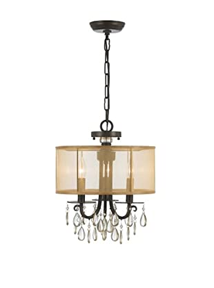 Gold Coast Lighting English Bronze 3-Light Chandelier