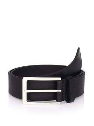 Michael Kors Men's Leather Belt (Black)