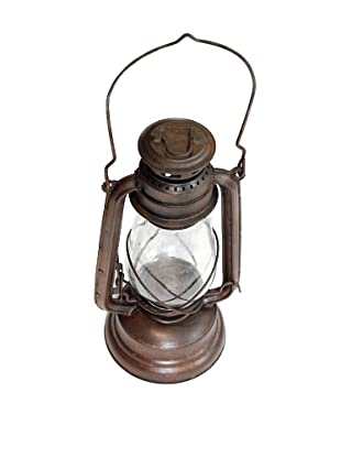 Locks of Love Vintage Inspired Eastern Atlantic Railroad Oil Lantern, c1950s