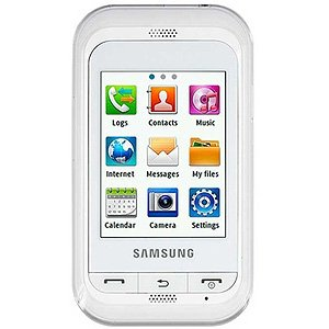 Samsung Champ C3303i - Chic White for Samsung Champ C3300