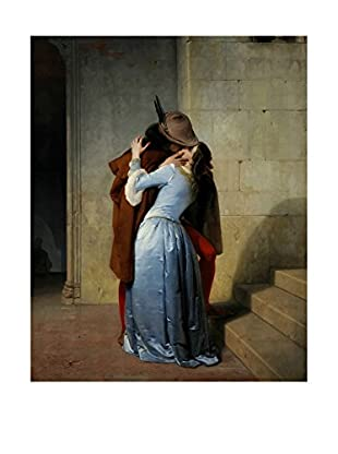 Legendarte Lienzo Il Bacio di Francesco Hayez