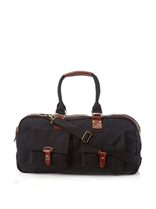 J. Campbell Los Angeles Men's Washed Canvas Duffle (Black)