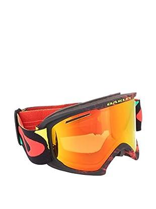 OAKLEY Skibrille 7045 schwarz/rot