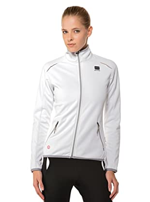 Sportful Chaqueta Crosscountry Snowflake (Blanco)