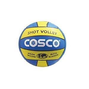 Cosco Shot Multi Color Volleyball