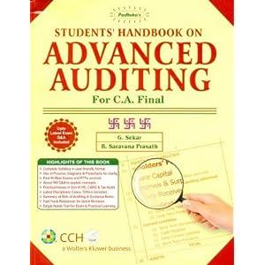 Paduka's Students Handbook on Advanced Auditing - CA Final