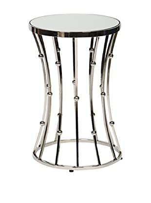 Prima Design Source Wire and Ball Accent Table, Silver