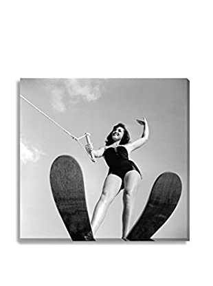 Photos.Com By Getty Images Water-Skier By 3 Lions On Canvas