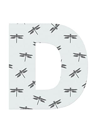 Letra Decorativa Letra D
