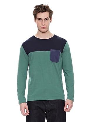 Springfield Camiseta S1 Ml Posicionada (Verde / Marino)