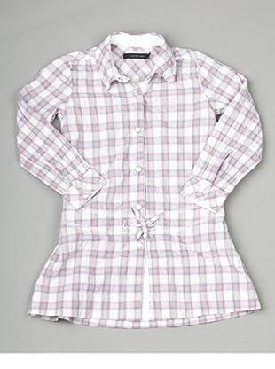 Calvin Klein Jeans CGW131 Z8C52 Mädchen Kleider (Rosa/Grau)