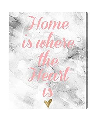 Oliver Gal 'The Heart Is Home' Canvas Art