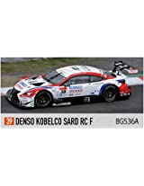 Bugzees64 Denso Kobelco Sard Rc F No.39 Super Gt 2014 White Red 1/64 Scale Plastic Model Figure Detectives Race Super Car Rally Formula Vehicle Toy Table Decor Grand Tourer Touring Bugzees