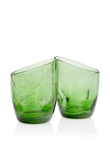 Tivoli Set of 2 Tumblers (Green)