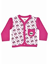 Hello Kitty Girls Front Open Vest - Pink (0 - 12 Months)