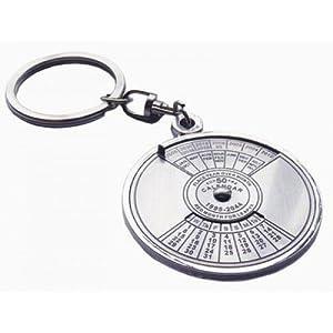 Jloot Calendar Keychain-Silver