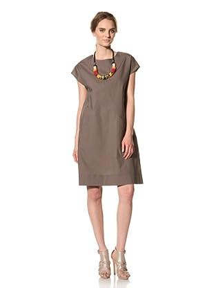 MARNI Women's Short Sleeve Dress (Brown)