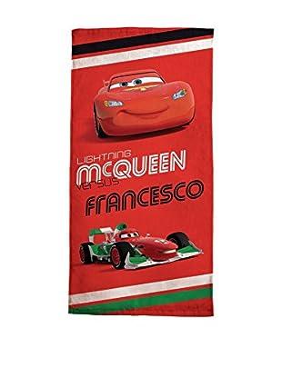 Cavalieri Strandtuch Cars mehrfarbig 75 x 150 cm