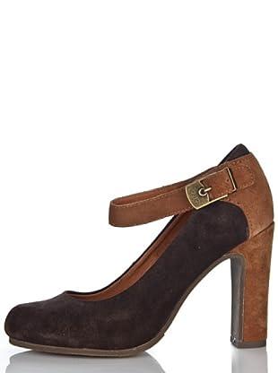 Scholl Zapatos Timese (Marrón Oscuro)