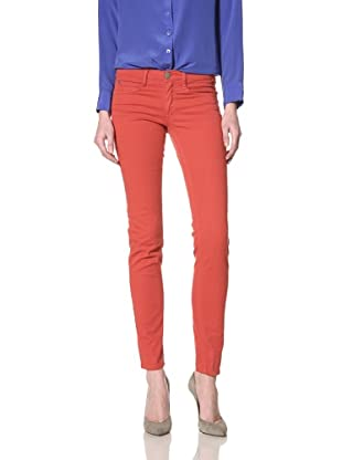 Guido & Mary Women's Jenny Skinny Jean (Red Velvet)