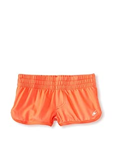O'Neill Girl's 7-16 Candy Board Shorts (Hot Coral)