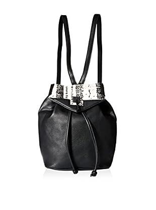 Danielle Nicole Women's Brooklynne Backpack, Black Snake
