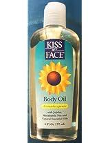 Kiss My Face Aromatherapeutic Body Oil (6 fl oz.)