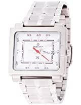 Maxima Attivo Analog White Dial Men's Watch - 20942CMGI