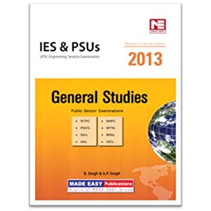 IES And PSUs 2012 General Studies: UPSC Engineering Services Examination