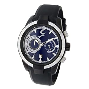Gattinoni Men's TMJ3153-4 Phoenix Blue Luminous Chronograph Dial Watch