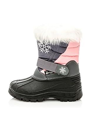 Vertigo Botas de Nieve Dream (Gris / Rosa)