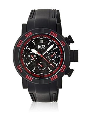 Mos Reloj con movimiento cuarzo japonés Mosmb104 Negro 48  mm