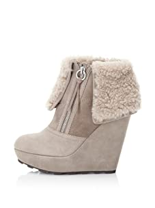 Ash Women's Folk Platform Ankle Boot (Taupe)