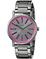 DKNY Analog Gunmetal Dial Women's Watch - NY2420