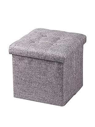 Sitzhocker grau