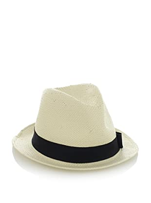 Scotch & Soda Men's Must-Have Straw Hat (Off-White)