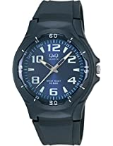 Q&Q Regular Analog Blue Dial Men's Watch - VP58-003