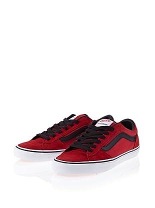 Vans La Cripta Dos V98U0QB Herren Sneaker (Rot (true red/black))