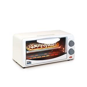 ETO-113Elite Cuisine ETO-113 Maxi-Matic 2-Slice Toaster Oven with 15 Minute Timer, White
