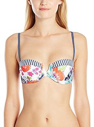 Splendid Sujetador de Bikini Full Bloom Uw Bra Multicolor M