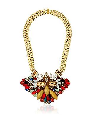 Maiocci Halskette  goldfarben/mehrfarbig
