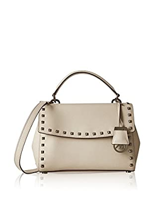 Michael Kors Bolso asa de mano Ava Stud Sm Th Satchel Saffiano Leather Gun