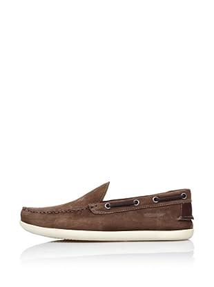 Sebago Zapato Mocasín Pala Lisa (Marrón)