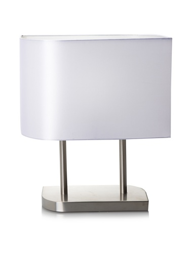 Trend Lighting Shift Table Lamp, Brushed Nickel