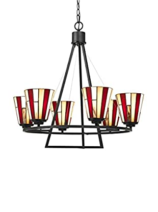 Bristol Park Lighting Brad 6-Light Chandelier, Dark Bronze
