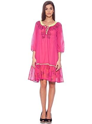 Sigris Vestido India (Fucsia)